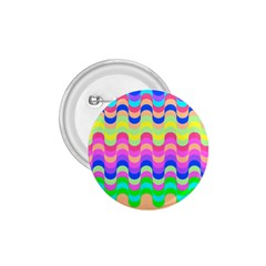 Dna Early Childhood Wave Chevron Woves Rainbow 1 75  Buttons by Alisyart