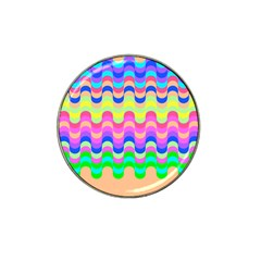 Dna Early Childhood Wave Chevron Woves Rainbow Hat Clip Ball Marker (4 Pack) by Alisyart