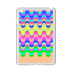 Dna Early Childhood Wave Chevron Woves Rainbow Ipad Mini 2 Enamel Coated Cases