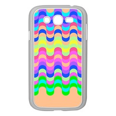 Dna Early Childhood Wave Chevron Woves Rainbow Samsung Galaxy Grand Duos I9082 Case (white) by Alisyart