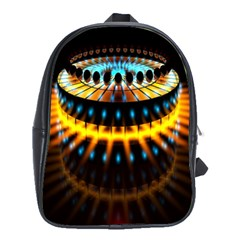Abstract Led Lights School Bags(large)  by Simbadda