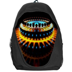Abstract Led Lights Backpack Bag