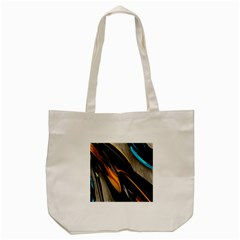 Abstract 3d Tote Bag (cream)