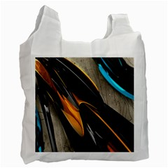 Abstract 3d Recycle Bag (one Side) by Simbadda