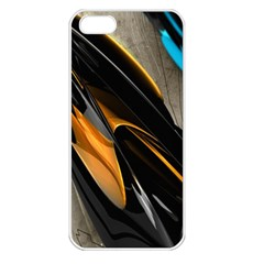 Abstract 3d Apple Iphone 5 Seamless Case (white)
