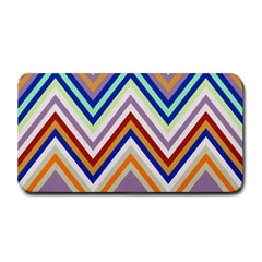 Chevron Wave Color Rainbow Triangle Waves Grey Medium Bar Mats