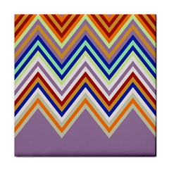 Chevron Wave Color Rainbow Triangle Waves Grey Face Towel by Alisyart
