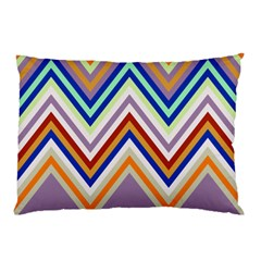 Chevron Wave Color Rainbow Triangle Waves Grey Pillow Case