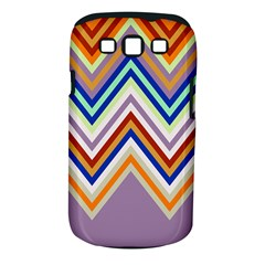 Chevron Wave Color Rainbow Triangle Waves Grey Samsung Galaxy S Iii Classic Hardshell Case (pc+silicone)