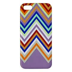 Chevron Wave Color Rainbow Triangle Waves Grey Apple Iphone 5 Premium Hardshell Case