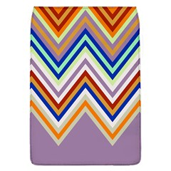 Chevron Wave Color Rainbow Triangle Waves Grey Flap Covers (l)  by Alisyart