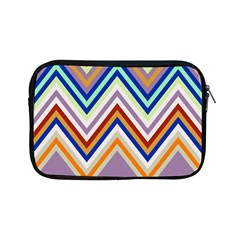 Chevron Wave Color Rainbow Triangle Waves Grey Apple Ipad Mini Zipper Cases