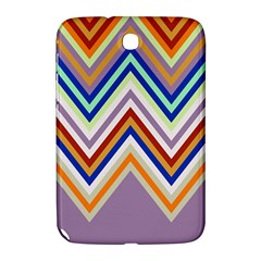 Chevron Wave Color Rainbow Triangle Waves Grey Samsung Galaxy Note 8 0 N5100 Hardshell Case