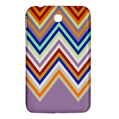 Chevron Wave Color Rainbow Triangle Waves Grey Samsung Galaxy Tab 3 (7 ) P3200 Hardshell Case