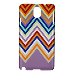 Chevron Wave Color Rainbow Triangle Waves Grey Samsung Galaxy Note 3 N9005 Hardshell Case