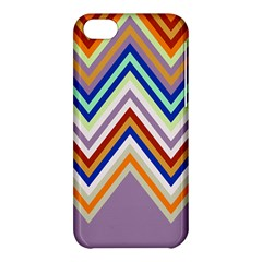 Chevron Wave Color Rainbow Triangle Waves Grey Apple Iphone 5c Hardshell Case