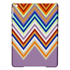 Chevron Wave Color Rainbow Triangle Waves Grey Ipad Air Hardshell Cases