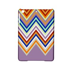 Chevron Wave Color Rainbow Triangle Waves Grey Ipad Mini 2 Hardshell Cases by Alisyart