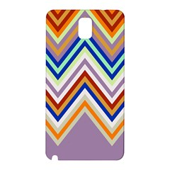 Chevron Wave Color Rainbow Triangle Waves Grey Samsung Galaxy Note 3 N9005 Hardshell Back Case