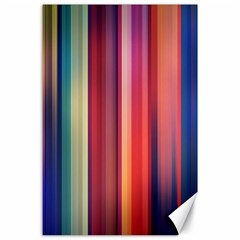 Texture Lines Vertical Lines Canvas 24  X 36  by Simbadda