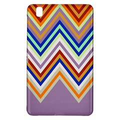 Chevron Wave Color Rainbow Triangle Waves Grey Samsung Galaxy Tab Pro 8 4 Hardshell Case