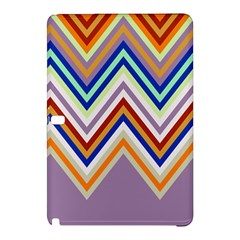 Chevron Wave Color Rainbow Triangle Waves Grey Samsung Galaxy Tab Pro 12 2 Hardshell Case