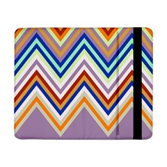 Chevron Wave Color Rainbow Triangle Waves Grey Samsung Galaxy Tab Pro 8 4  Flip Case
