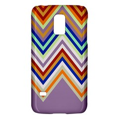 Chevron Wave Color Rainbow Triangle Waves Grey Galaxy S5 Mini