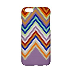 Chevron Wave Color Rainbow Triangle Waves Grey Apple Iphone 6/6s Hardshell Case