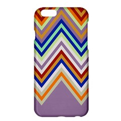 Chevron Wave Color Rainbow Triangle Waves Grey Apple Iphone 6 Plus/6s Plus Hardshell Case