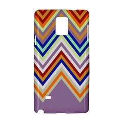 Chevron Wave Color Rainbow Triangle Waves Grey Samsung Galaxy Note 4 Hardshell Case