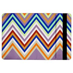 Chevron Wave Color Rainbow Triangle Waves Grey Ipad Air 2 Flip