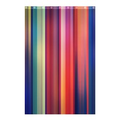 Texture Lines Vertical Lines Shower Curtain 48  X 72  (small)  by Simbadda