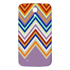 Chevron Wave Color Rainbow Triangle Waves Grey Samsung Galaxy Mega I9200 Hardshell Back Case