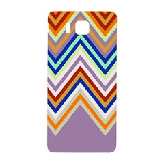 Chevron Wave Color Rainbow Triangle Waves Grey Samsung Galaxy Alpha Hardshell Back Case