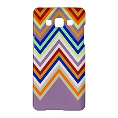 Chevron Wave Color Rainbow Triangle Waves Grey Samsung Galaxy A5 Hardshell Case