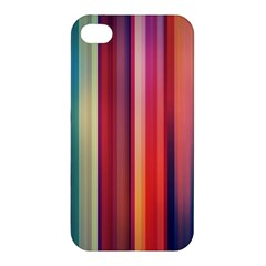 Texture Lines Vertical Lines Apple Iphone 4/4s Hardshell Case by Simbadda
