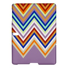 Chevron Wave Color Rainbow Triangle Waves Grey Samsung Galaxy Tab S (10 5 ) Hardshell Case