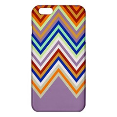 Chevron Wave Color Rainbow Triangle Waves Grey Iphone 6 Plus/6s Plus Tpu Case