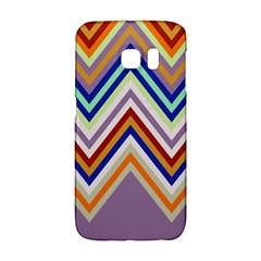 Chevron Wave Color Rainbow Triangle Waves Grey Galaxy S6 Edge