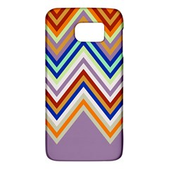 Chevron Wave Color Rainbow Triangle Waves Grey Galaxy S6