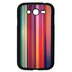 Texture Lines Vertical Lines Samsung Galaxy Grand Duos I9082 Case (black)