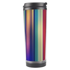 Texture Lines Vertical Lines Travel Tumbler