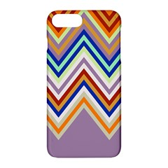 Chevron Wave Color Rainbow Triangle Waves Grey Apple Iphone 7 Plus Hardshell Case
