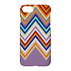 Chevron Wave Color Rainbow Triangle Waves Grey Apple Iphone 7 Hardshell Case