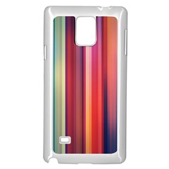 Texture Lines Vertical Lines Samsung Galaxy Note 4 Case (white)