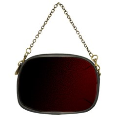 Abstract Dark Simple Red Chain Purses (one Side)  by Simbadda