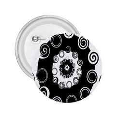 Fluctuation Hole Black White Circle 2 25  Buttons