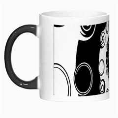 Fluctuation Hole Black White Circle Morph Mugs
