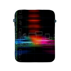 Abstract Binary Apple Ipad 2/3/4 Protective Soft Cases by Simbadda